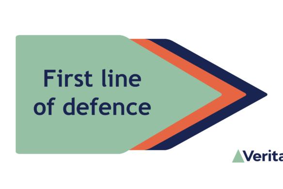 First line of defence internal audit - Veritau