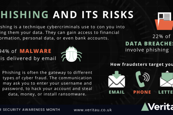 Phishing wide infographic Veritau