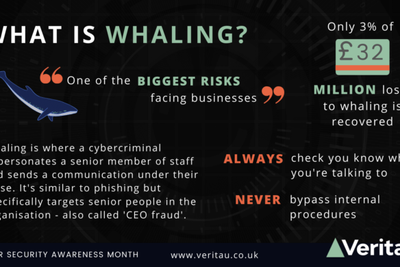 What is whaling wide infographic Veritau