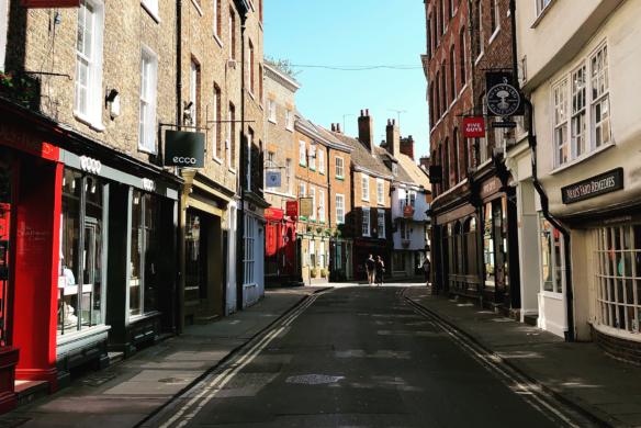 Business rates scam alert - image of Petergate, York