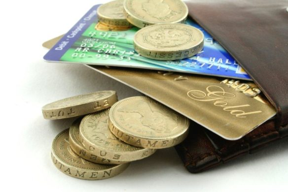 wallet with coins and cards: Council tax fraud prosecuted