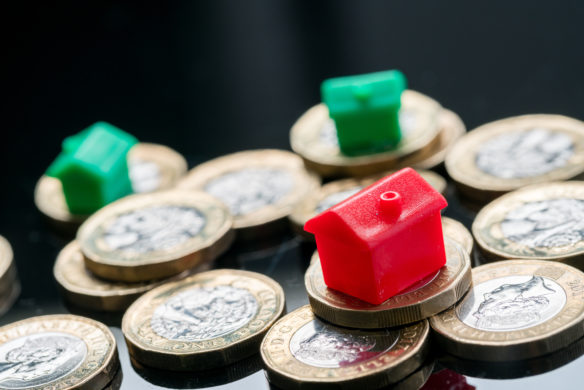 Image of monopoly houses on coins - Forged tenancy agreements - council tax prosecution Veritau