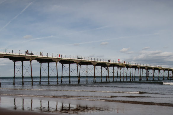 Saltburn pier. Veritau is expanding - Middlesbrough and Redcar join