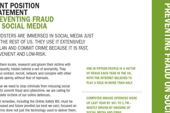 Preventing fraud on social media - fraud advisory panel PDF
