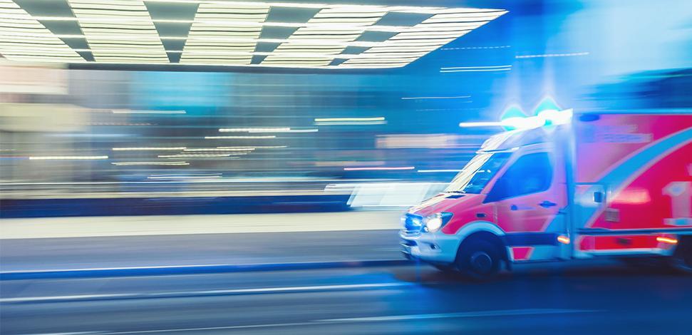 image of fire struck - Emergency services - assurance services Veritau
