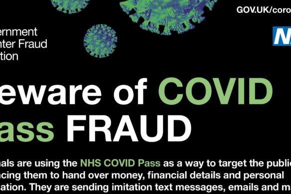 Beware of Covid pass fraud_NHS